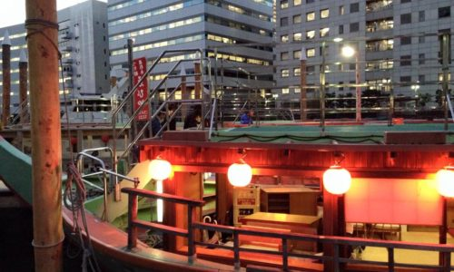 芝浦の船宿「ゑびや」