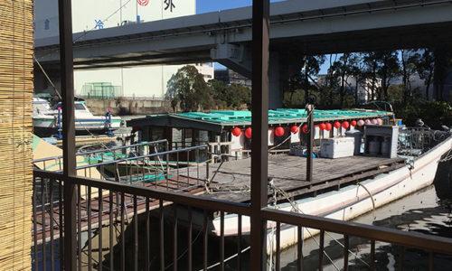 横浜の屋形船「たちばな」