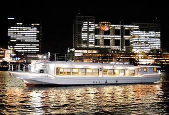 江戸川の屋形船「船宿 豆や」