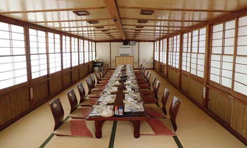 屋形船「大山丸」のお料理プラン