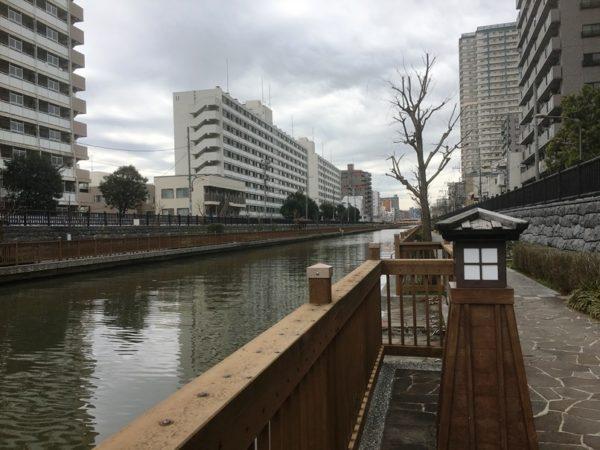小名木川沿いに広がる「塩の道」