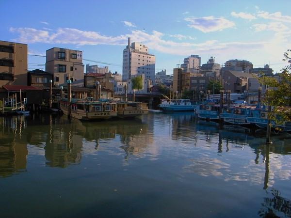 江戸前の海