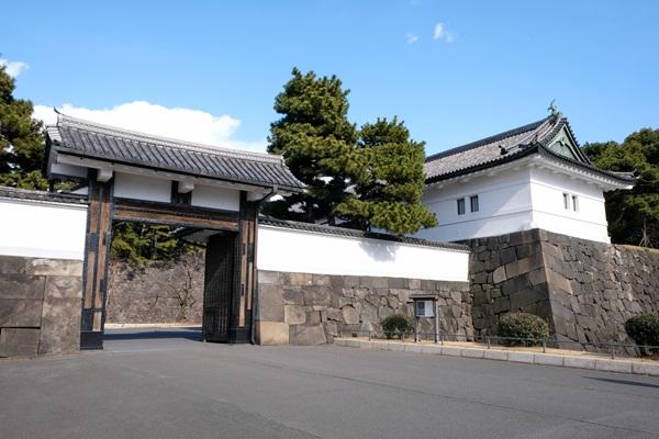 皇居・江戸城桜田門