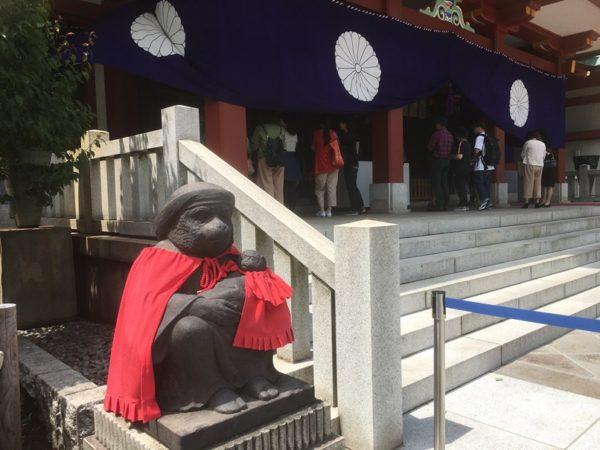 日枝神社のまさるくん