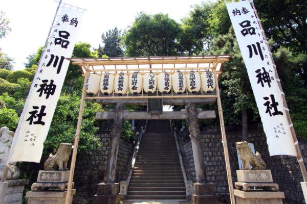 品川神社の天王祭りは有名