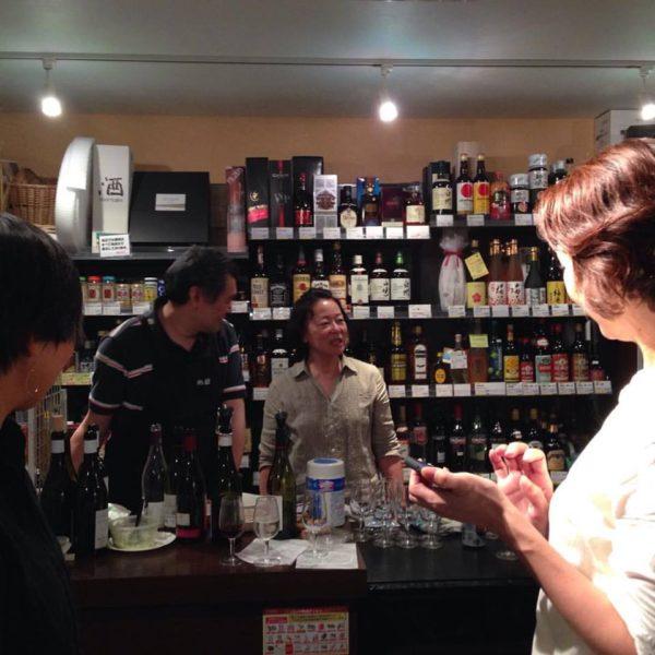 定期的に開催されているワインの会