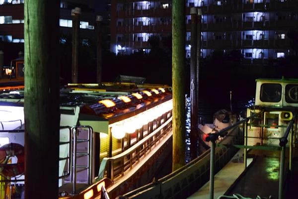 大江戸の船着き場