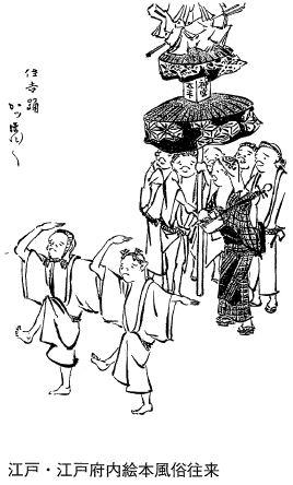 幕末〜明治期のかっぽれ(住吉踊り)