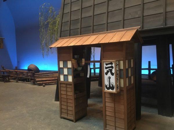 屋台そば(撮影:深川江戸資料館)