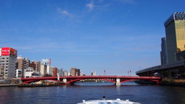 隅田川に架かる吾妻橋