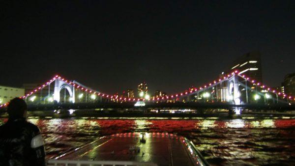 清洲橋の夜景