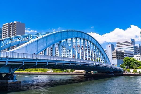 永代橋・都市風景