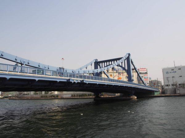 昼間の清洲橋