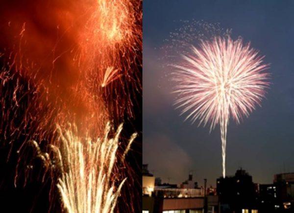 隅田川花火大会は第一会場と第二会場、どちらも規模は同じくらい
