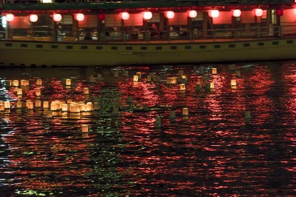 8月イベント隅田川灯ろう流し