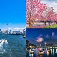 隅田川水辺の風景