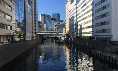 神田川を和泉橋から見る