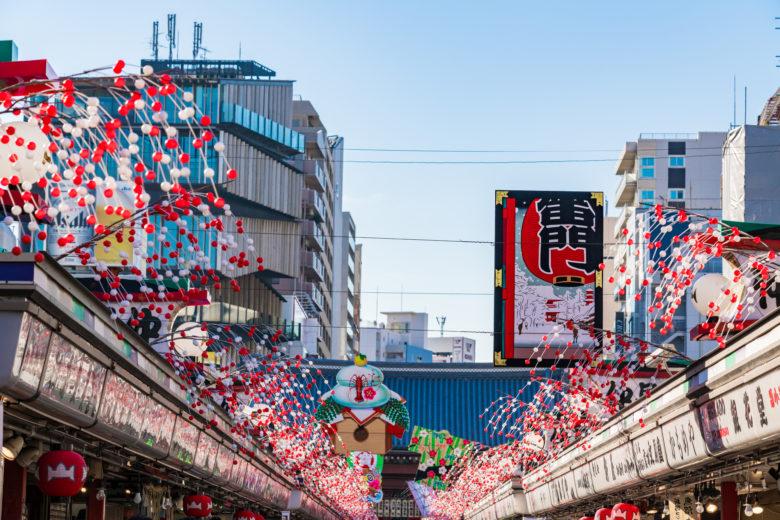 浅草は東京観光のシンボル