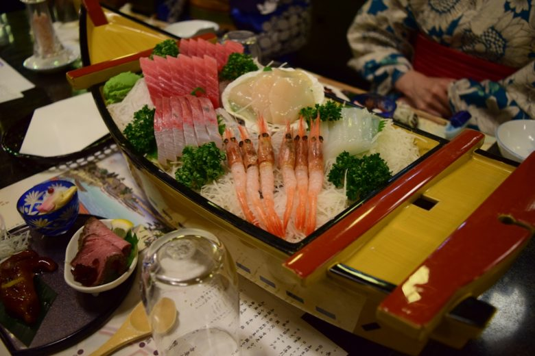 大江戸・乗合船のお料理