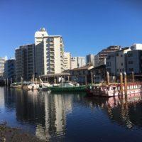 品川船宿が集まる船溜まり